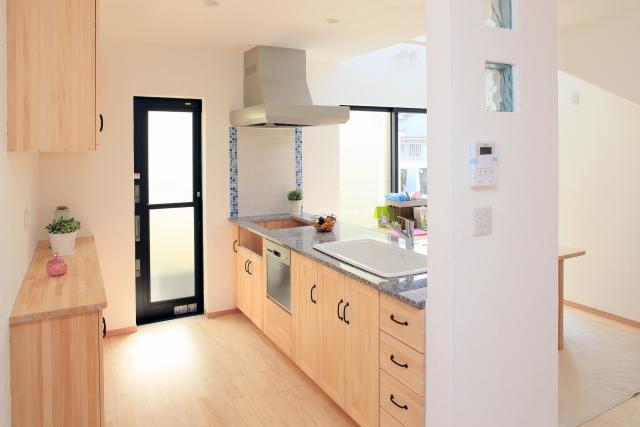 キッチンリフォームの床材の選び